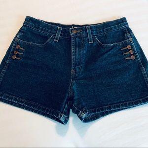 Vintage L.E.I High Rise Denim Shorts